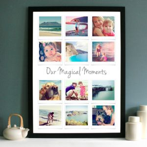 Personalised Photo Collage With Text